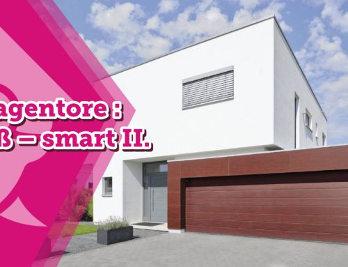 Garagentore : Groß – smart II.